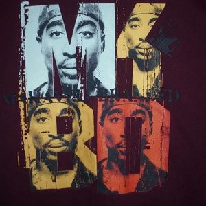 Makaveti Branded Tupac Shakur Long Sleeve Sz. 3XL